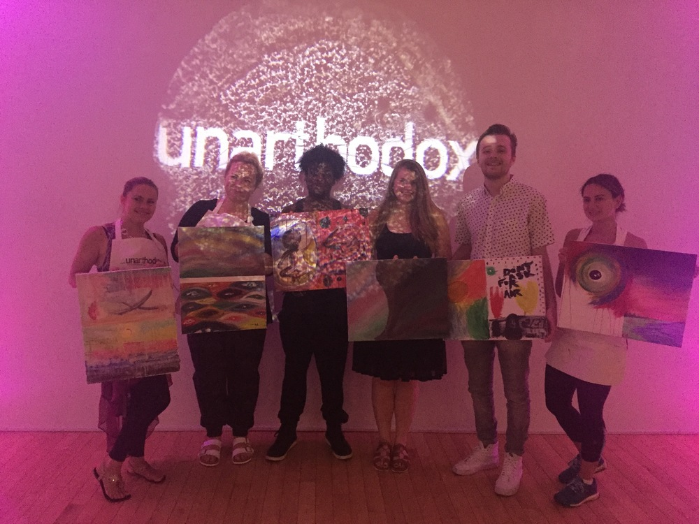 Intuitive Art Experience for groups and individuals NYC