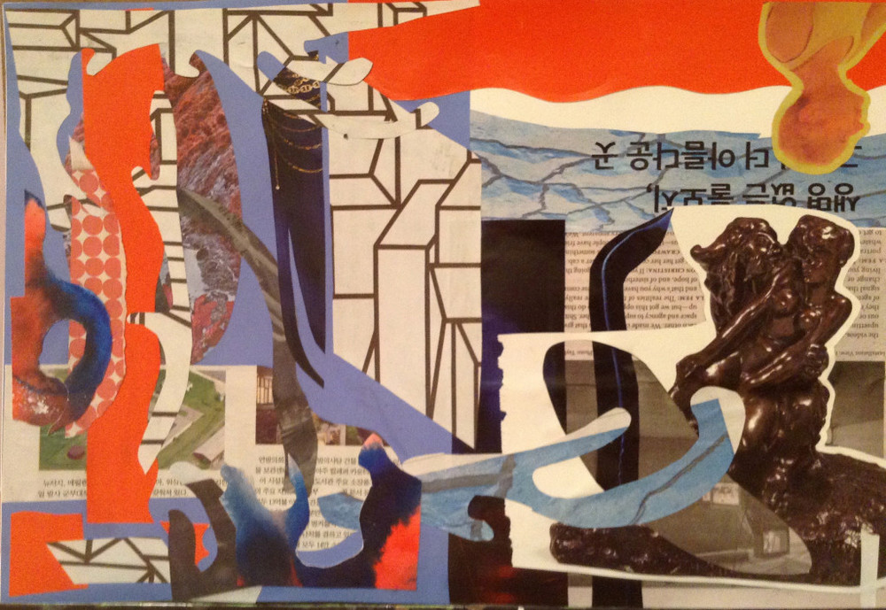 collage workshops for individuals and groups NYC