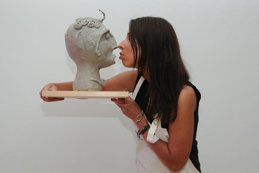 Unarthodox_SculptureWithoutSight_UniqueArtClassesNewYork_ExperimentalArtClassesNewYork
