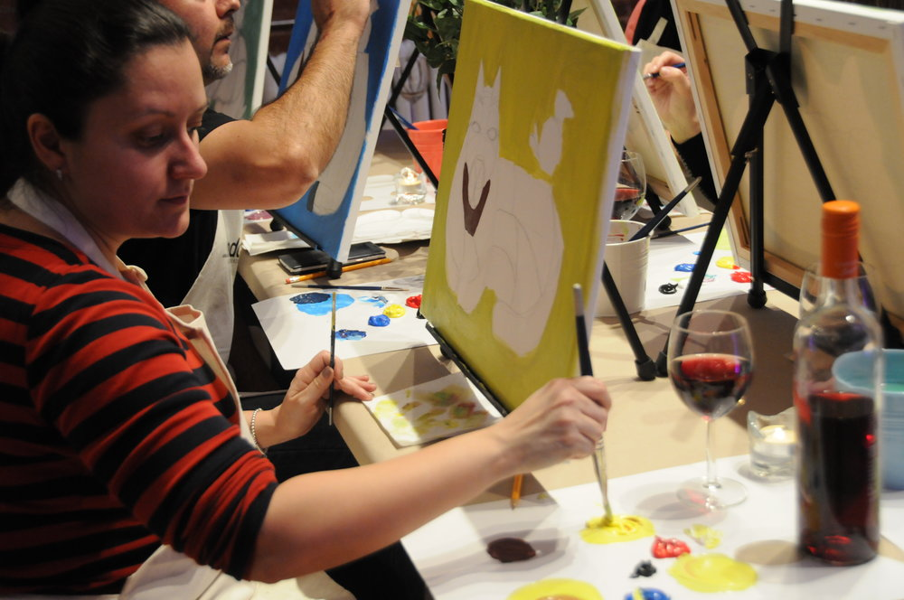 Unarthodox_BottledArtClass_PaintAndSip_Party_Experience