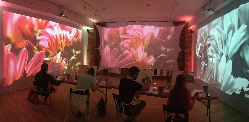 therapeutic art classes for individuals and groups in NYC