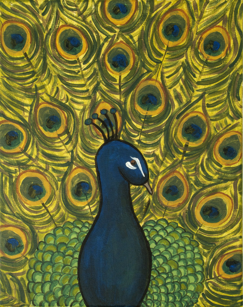 Selected Painting: The Peacock