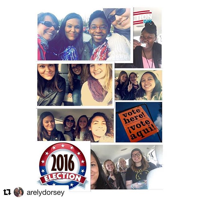 Knowing every cote counts and participating in voting is energizing. Let us love and respect all people, for love and joy is infectious.  #Repost @arelydorsey with @repostapp ・・・ From 12:00-1:00 this afternoon I drove students back & forth to the polls to vote. Everyone I drove is pictured here. 😀 For many of them it was their first election so it was cool to see their excitement about being able to vote. #pollshuttle #pollshuttledriver #election2016 #collegestudents #mmu #mountmaryuniversity #ilovemyjob #coolexperience #11082016