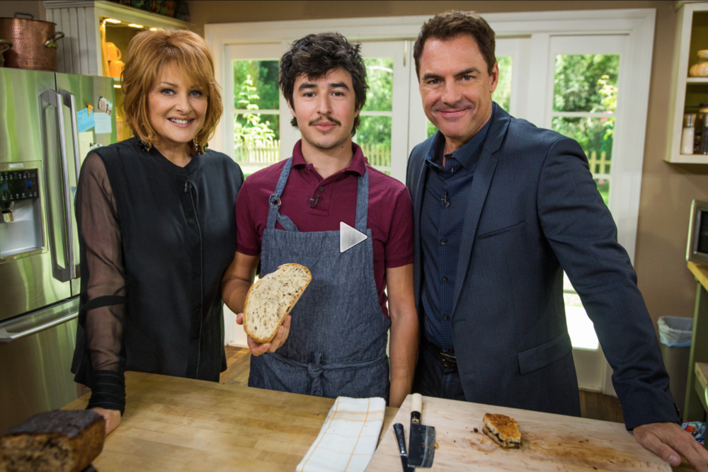 "Hallmark Home & Family  ""Chocolate Grilled Cheese on Sourdough - Home & Family"""