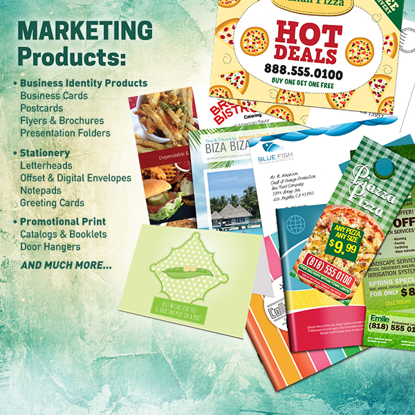 Paper Marketing Materials