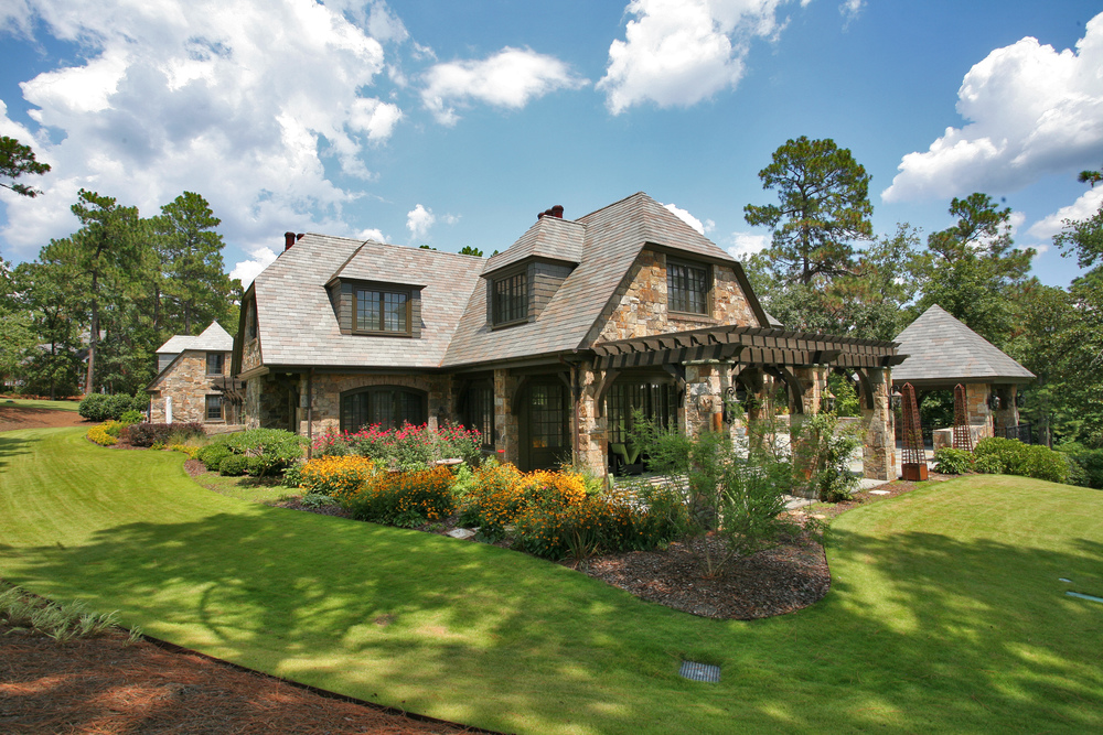 slate roof residence