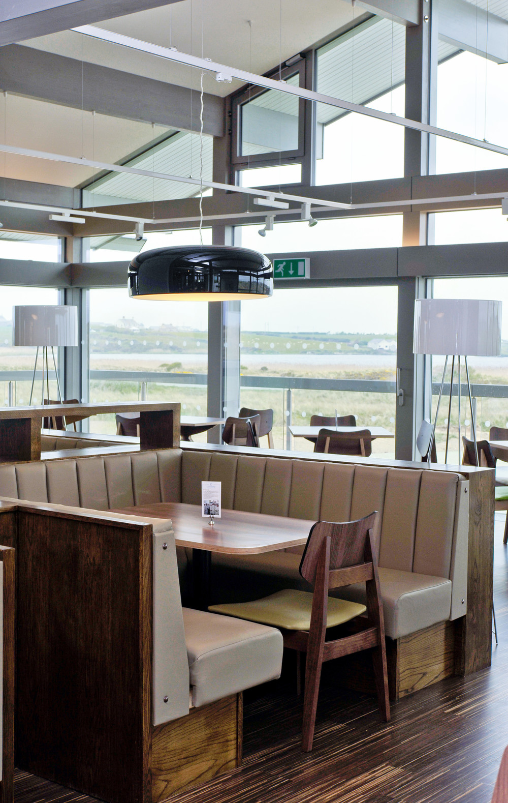 The Oyster Catcher restaurant in Anglesey with architectural and interior photography by Richard Stonehouse ,architectural photographer.