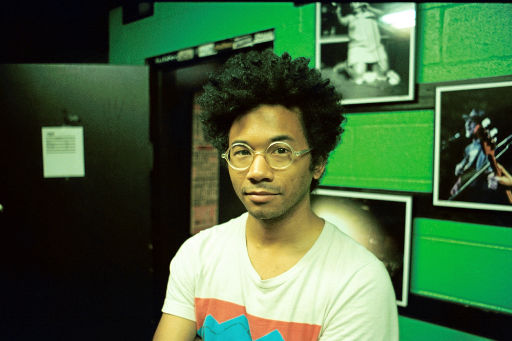 "\ REAL /   Chaz Bundick of Toro y Moi on the ""What For?"" U.S. Tour so far.  Exit/In – Nashville – 5/10/15"
