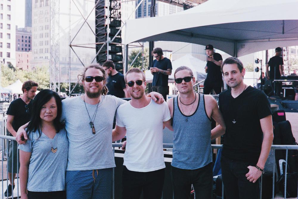 \ FLEEK /   Elliot Root on their U.S. Tour so far  Live on The Green – Nashville – 8/20/15