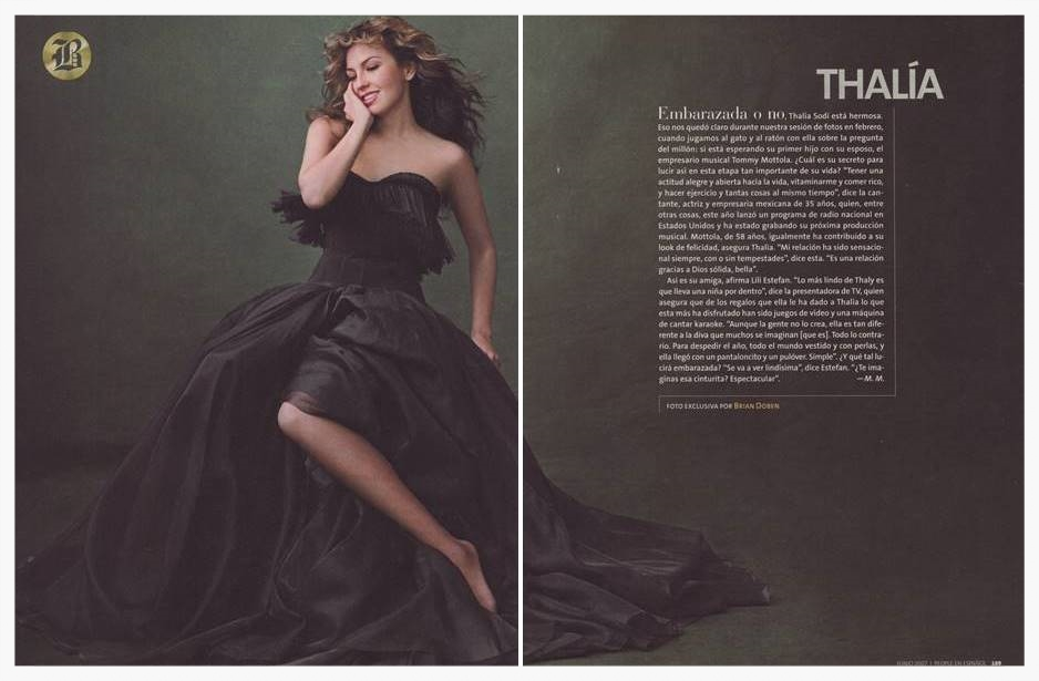 Thalia                        People Magazine