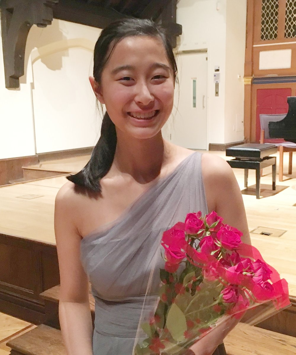 This year's winner: Violinist Coco Mi