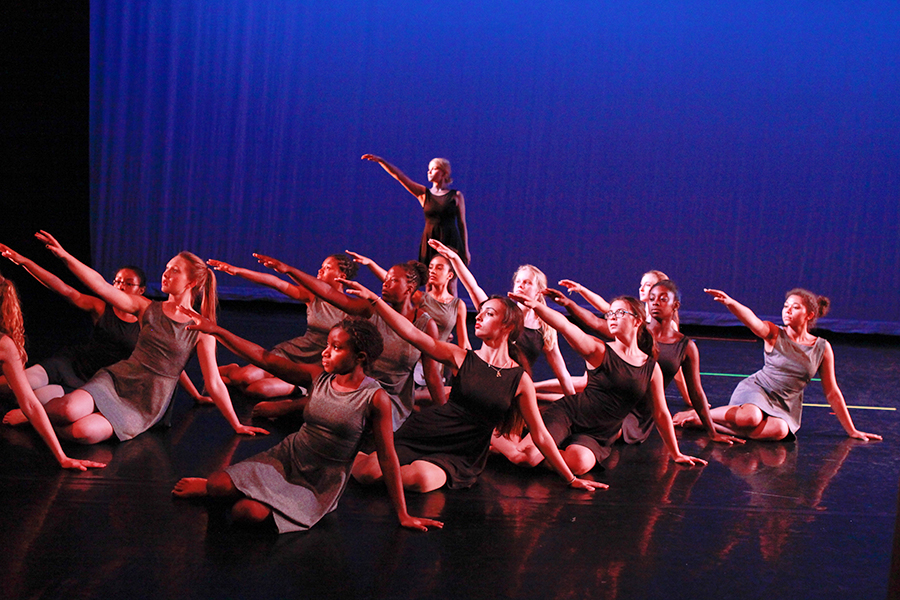The Mark Morris Dance Group Student Company.