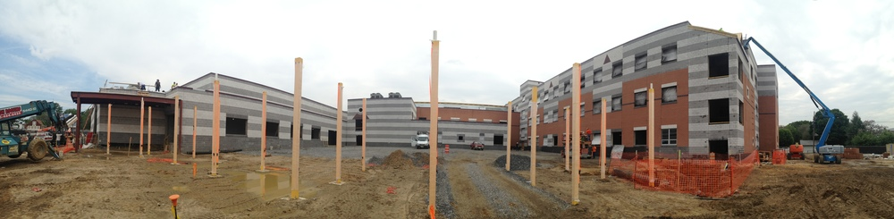 Ongoing construction at Gloucester City Elementary & Middle School
