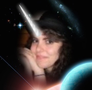 Apparently the app where you can turn yourself into a unicorn no longer exists, so please accept this very old picture of me as a unicorn in space in lieu of something more recent.