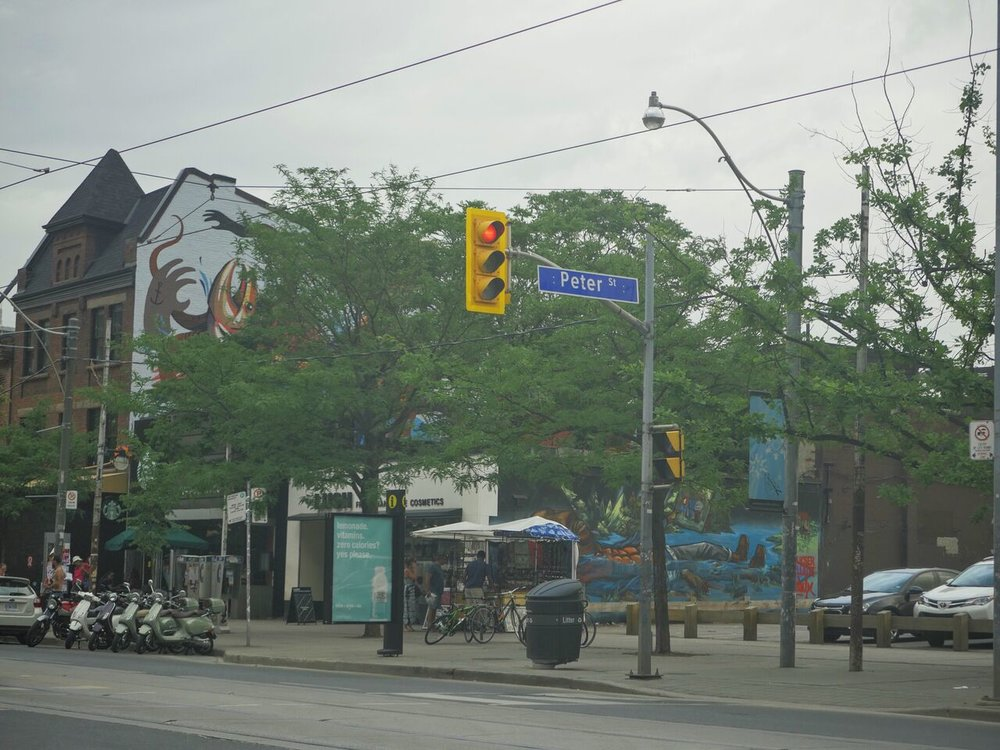 View from Queen West