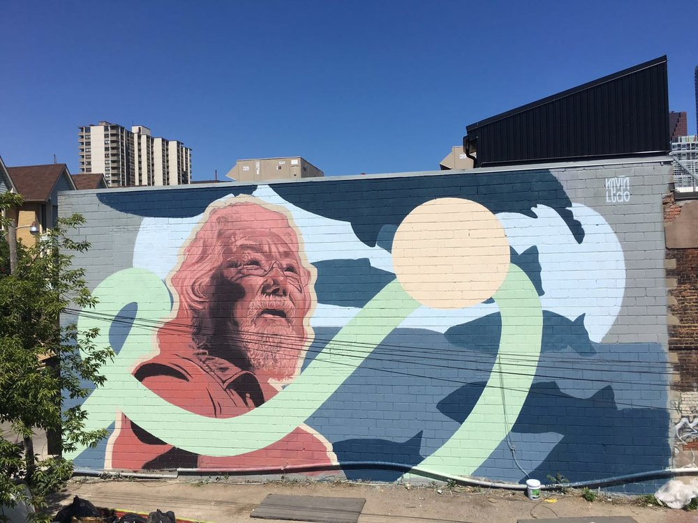 david suzuki by Kevin Ledo (MTL)