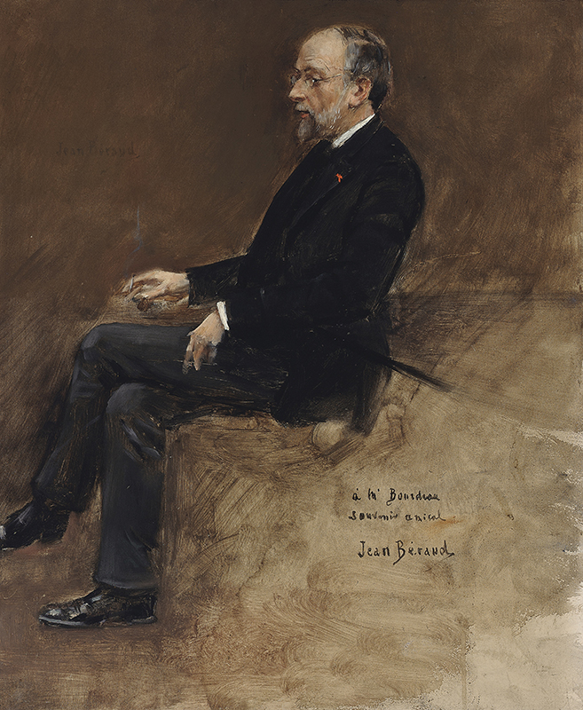 Jean Béraud | Portrait of Hippolyte Taine