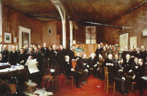 JEAN BÉRAUD, Le Journal de Débats (Musée d'Orsay, Paris)