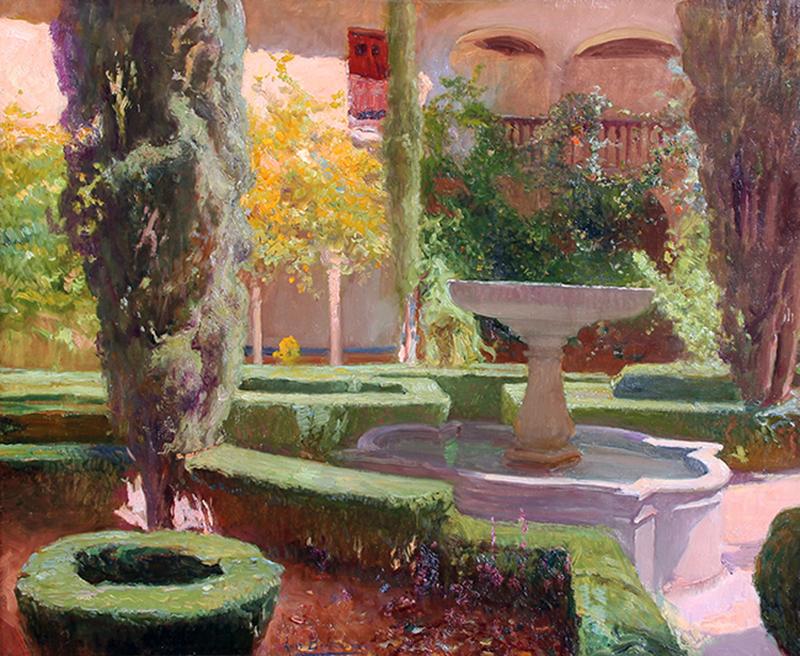 Luis Bertodano | Patio de Lindaraja, Alhambra (Granada)