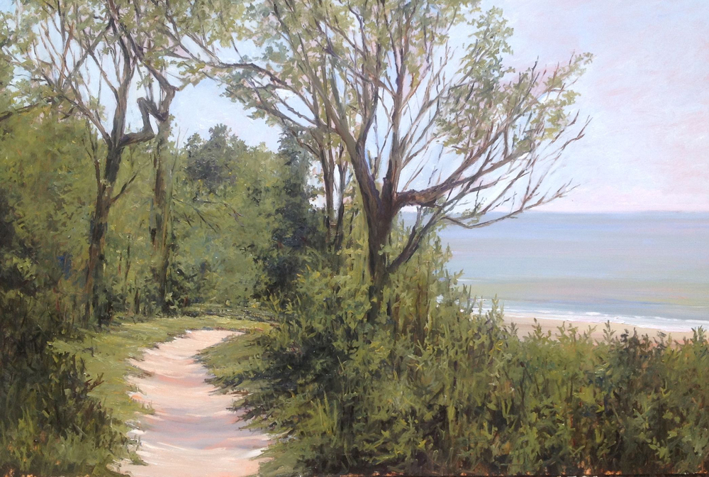 Emily Buchanan | Path to Isabella Beach, Fishers Island