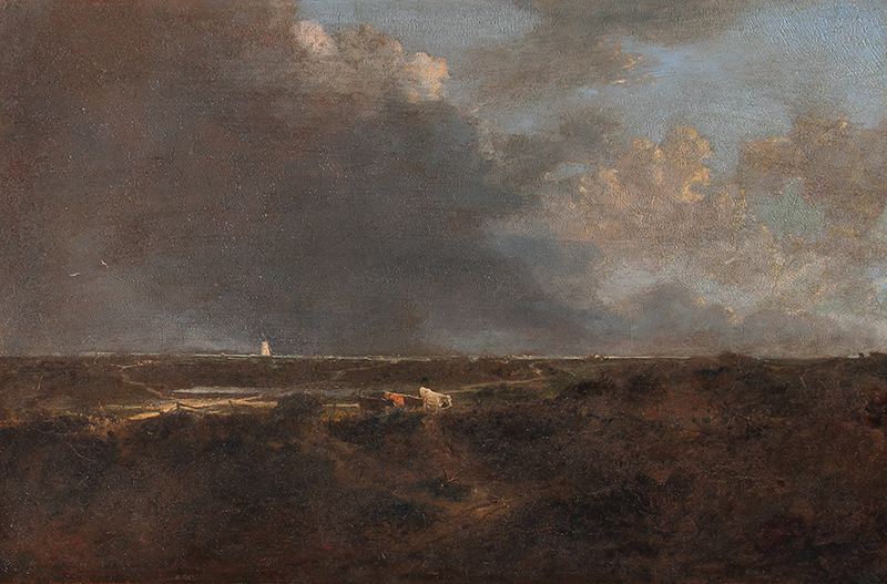 John Crome | A Heath Scene, near Norwich