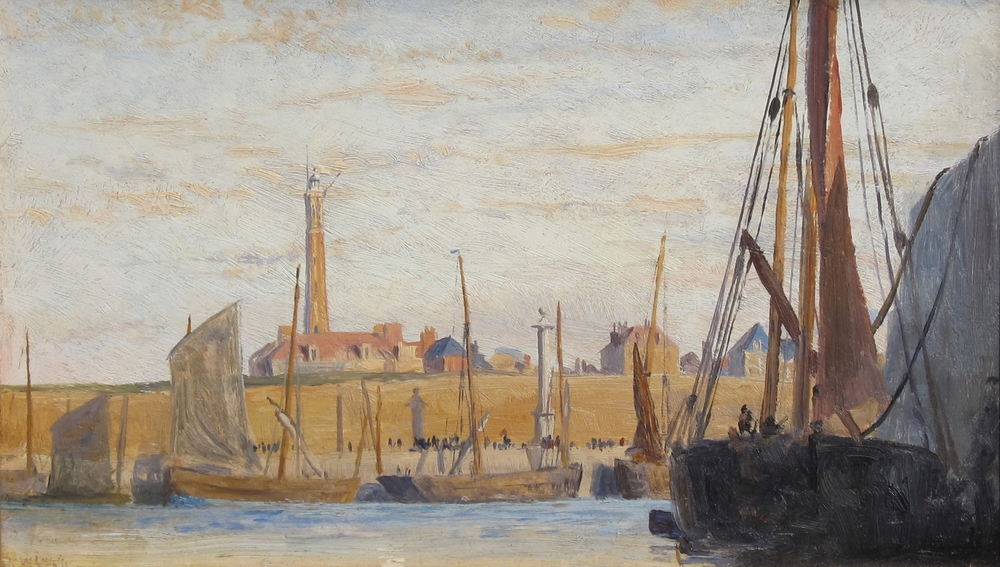 William Lionel Wyllie | Calais Harbor