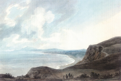 JOHN ROBERT COZENS,Fano on the Adriatic (1782)