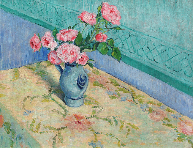 Dr. Paul Ferdinand Gachet | Bouquet de Roses