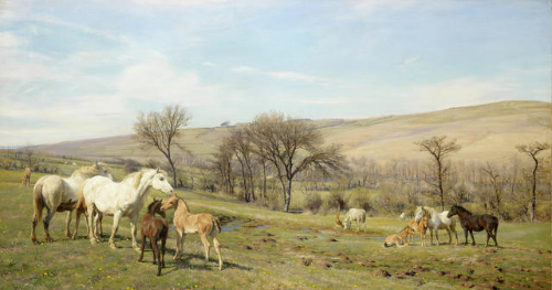 HENRY WILLIAM BANKS DAVIS, Spring Time