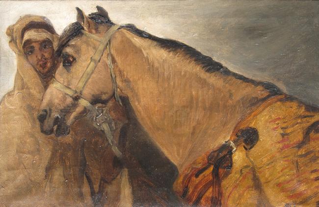 Gustave Achille Guillaumet | Chevalier et sa Monture