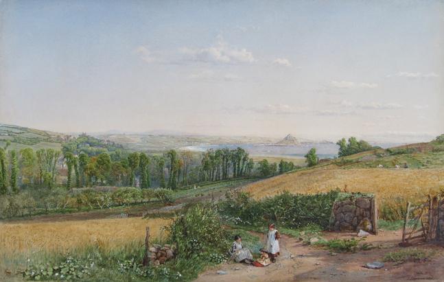 Samuel Phillips Jackson | Mount's Bay, Cornwall