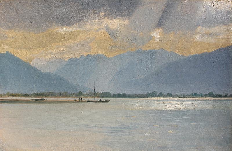 Samuel Pope Junior | Glencoe from Loch Leven, Scotland