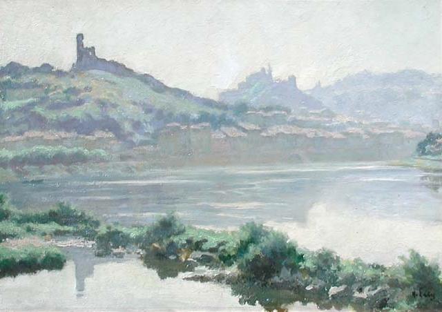 Hippolyte Lety | Vienne de la Rhône, Matin d'été