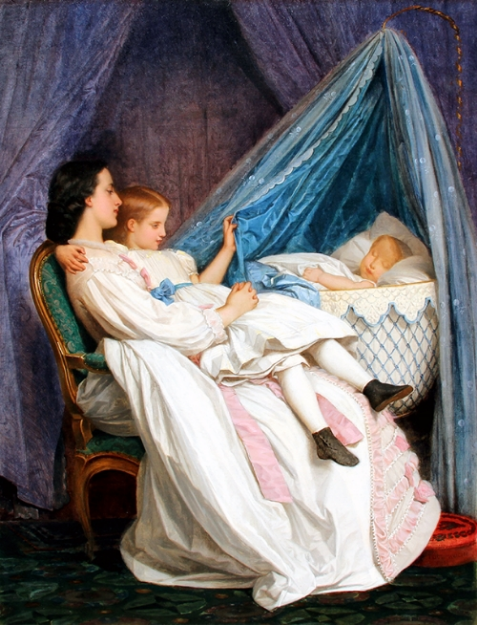 Auguste Toulmouche   The New Arrival