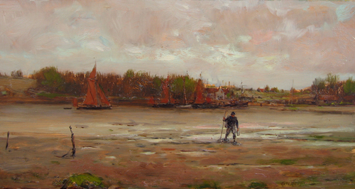 Estuary at Dawn Oil on panel 6 x 11 inches (15.2 x 28 cm) $8,500 Click here for more information