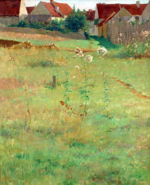 Emile Richard Haumont | The Edge of the Village