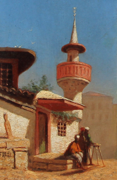 Charles Théodore Frère | Une Mosque à Constantinople