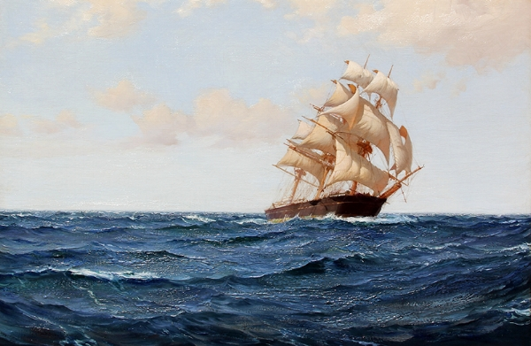 Montague Dawson | The Bostonian