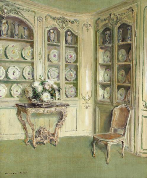 Walter Gay | Porcelains, Château du Bréau