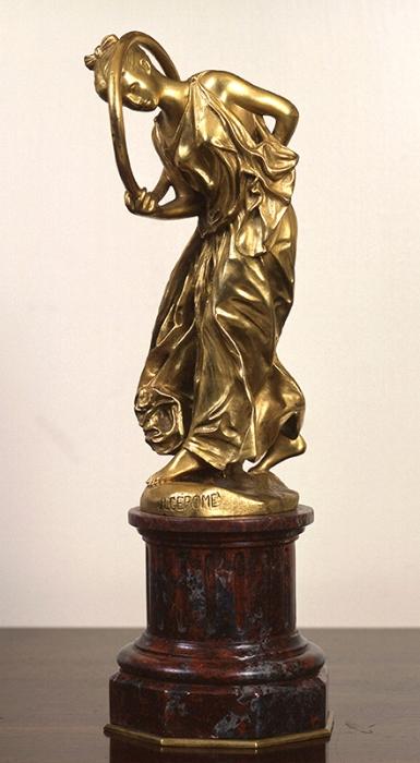 Jean Léon Gérôme | Hoop Dancer (La Joueuse de Cerceau)
