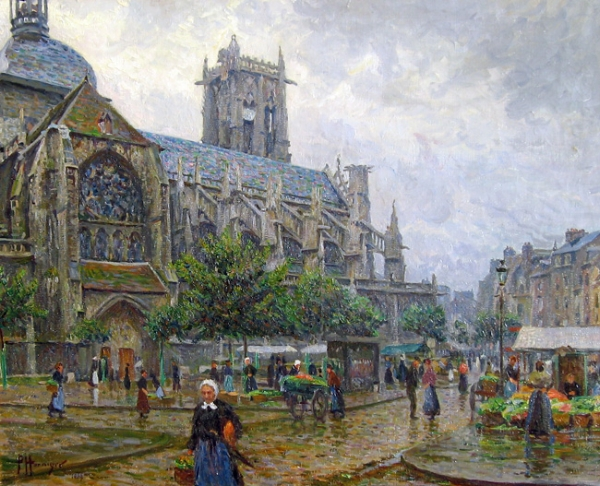 Paul Hoeniger | Church of St. Jacques, Dieppe