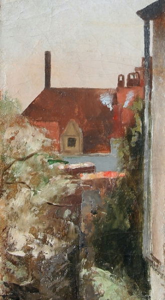 Eugène Jules Joseph Laermans | Rooftops