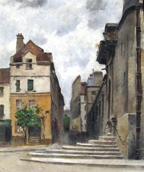 Emmanuel Lansyer | Rue de la Montagne-Ste.-Geneviève, Paris