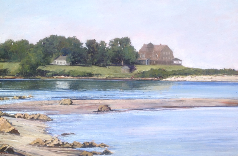 Emily Buchanan | Low Tide on Fishers Island