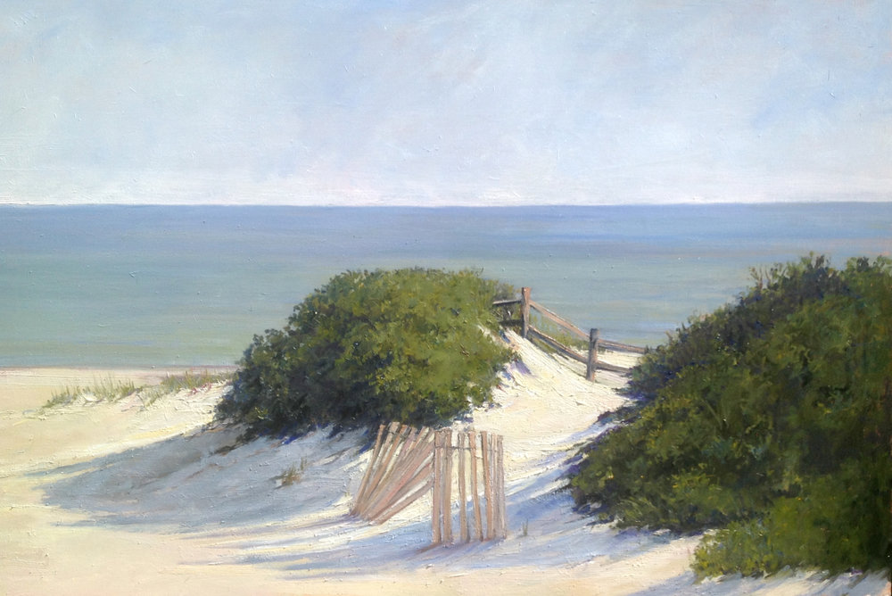 Emily Buchanan Nantucket Beach