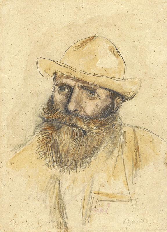 Charles Emile Auguste Carolus-Duran - Portrait of Claude Monet