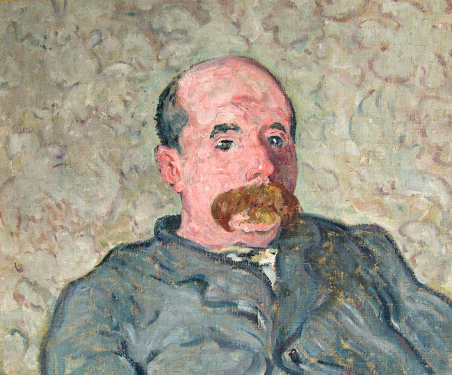 Louis Valtat Portrait of Jean Noël Oil on canvas 21½ x 25½ inches (54.5 x 64.8 cm) SOLD