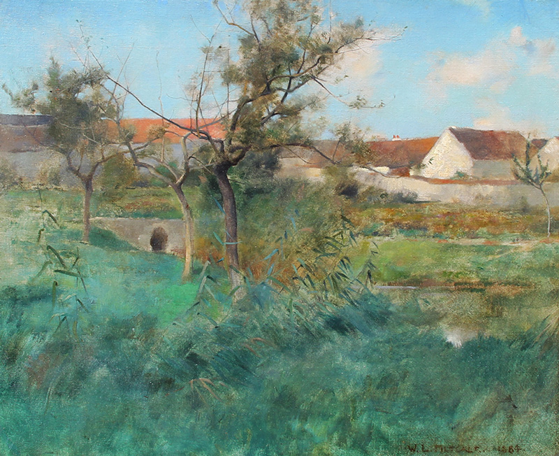 Willard Leroy Metcalf | Landscape in Grez