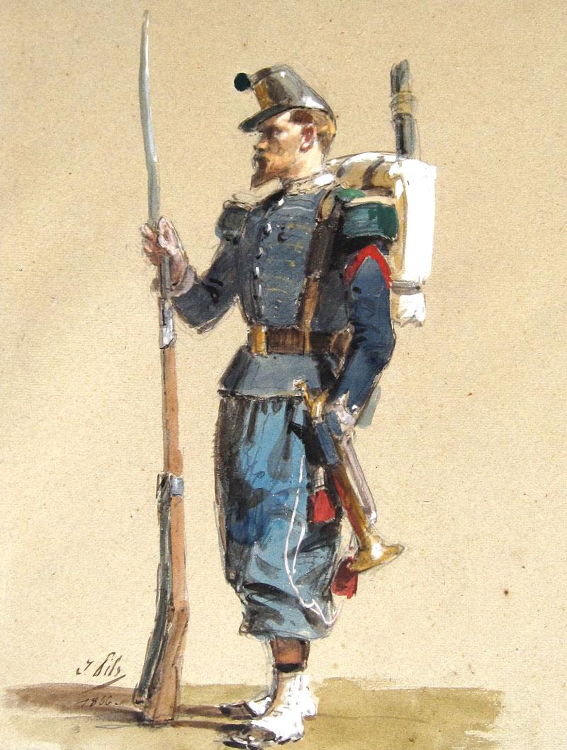 Isidore Pils - A RIfleman