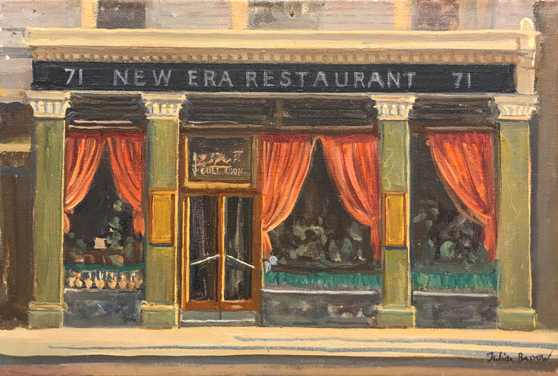 Julian Barrow - New Era Restaurant